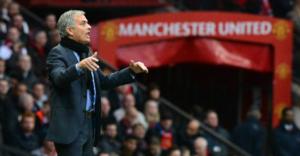 José Mourinho all'Old Trafford