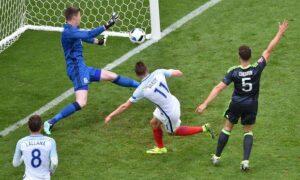 Il momento del gol