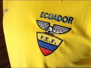 Lo stemma della federazione ecuadoregna