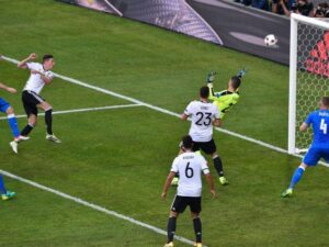 Il gol di Draxler contro la Slovacchia
