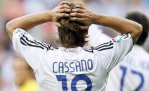 cassano real madrid