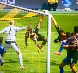 Il gol congiunto di Diomandé e Hernandez