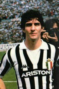 Un giovane Paolo Rossi