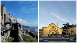 Il castello di Arechi e Santa Sofia