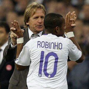 Robinho e Schuster, l'allenatore che più lo ha valorizzato a Madrid