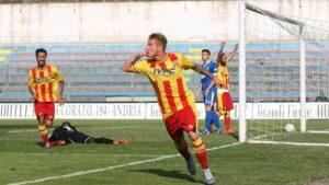 Il gol ad Andria