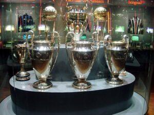 La ricca bacheca dell'Ajax