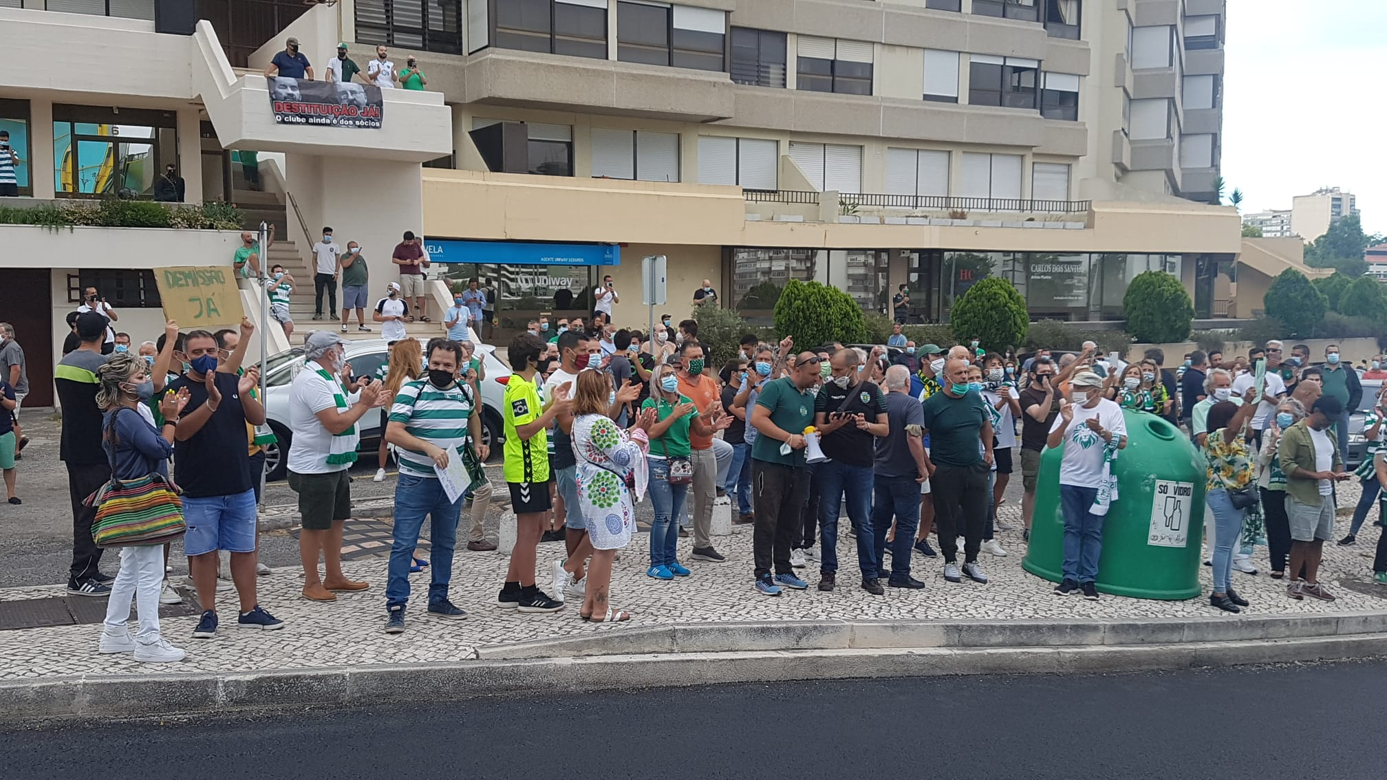 Proteste Sporting Lisbona