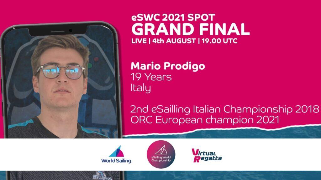 Olimpiadi virtuali, Mario Prodigio dell'Esport Revolution in finale questa sera!