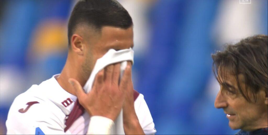 Napoli Torino, Juric perde i pezzi: subito out un titolarissimo