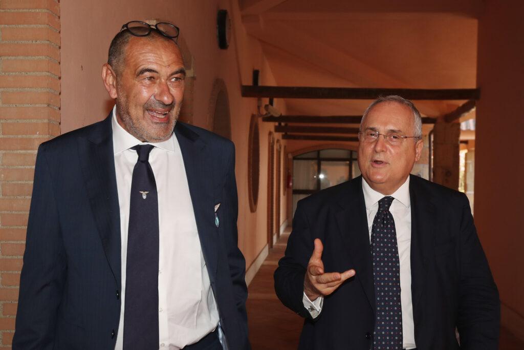 Lite Sarri – Luis Alberto: Lotito prende posizione!