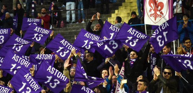 Db Bergamo 03/03/2019 - campionato di calcio serie A / Atalanta-Fiorentina / foto Daniele Buffa/Image nella foto: commemorazione Davide Astori PUBLICATIONxNOTxINxITA