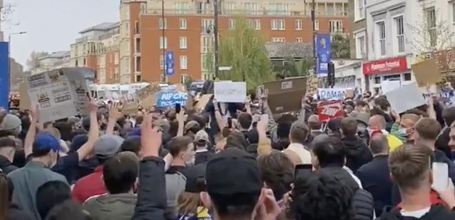 Chelsea Protesta Tifosi Super League